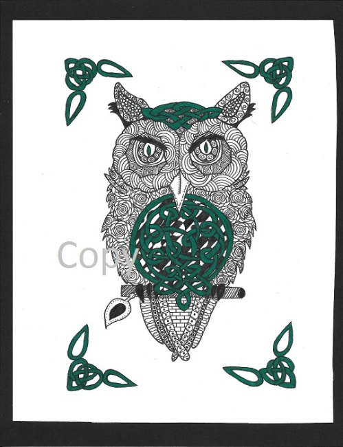 4 - Celtic Owl